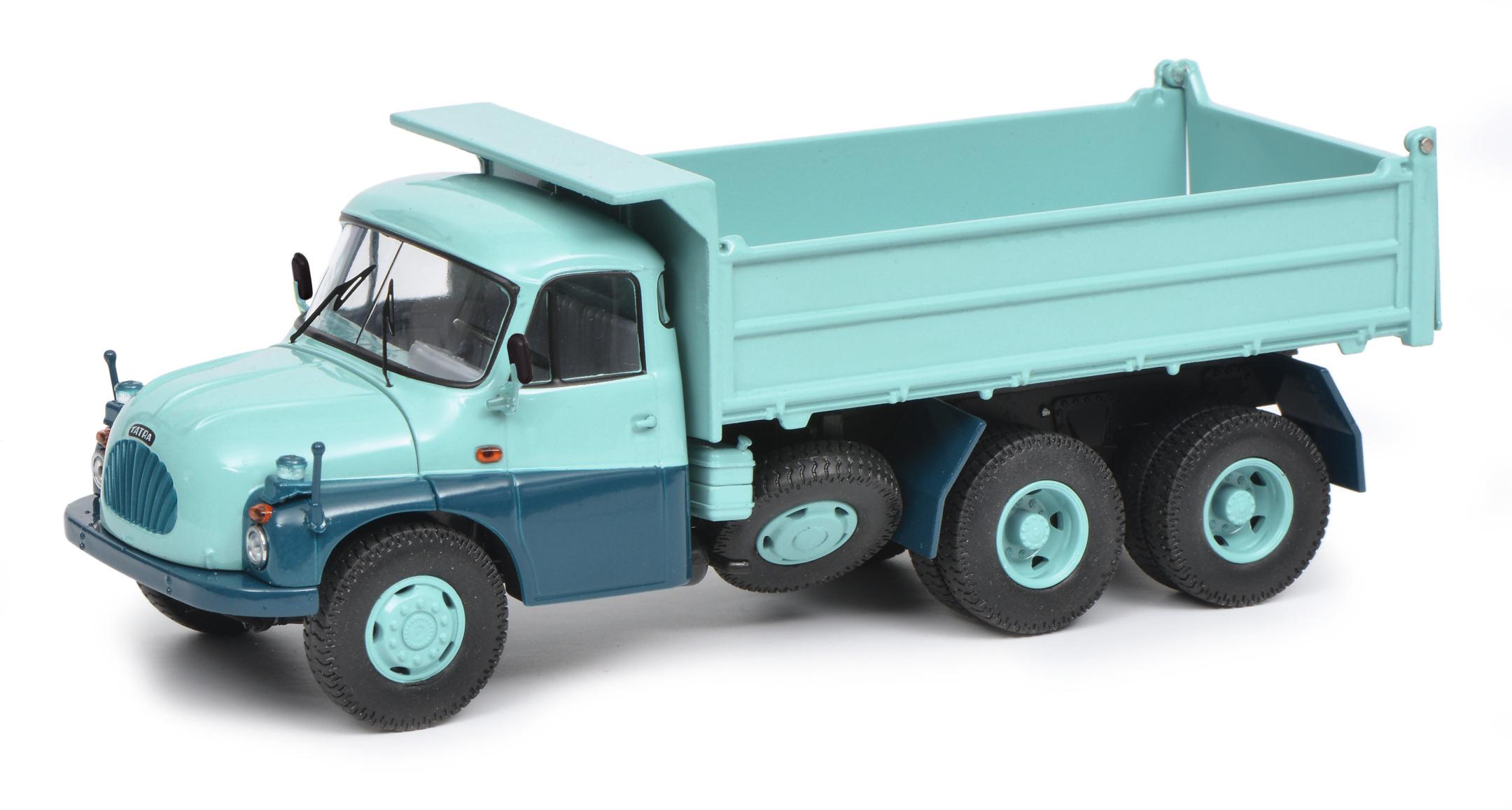 Tatra T138 6X6 Muldenkipper 1:43