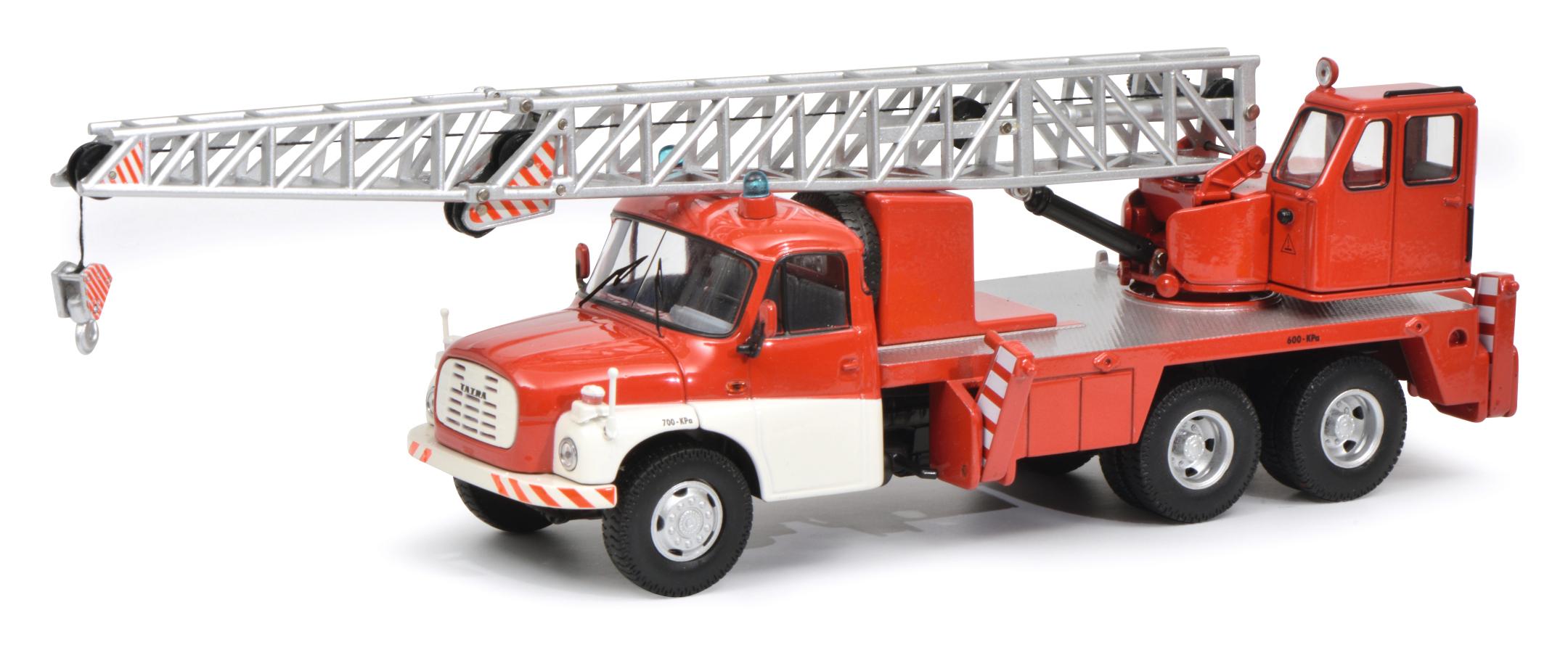 Tatra T148 Kranwagen Feuerwehr 1:43