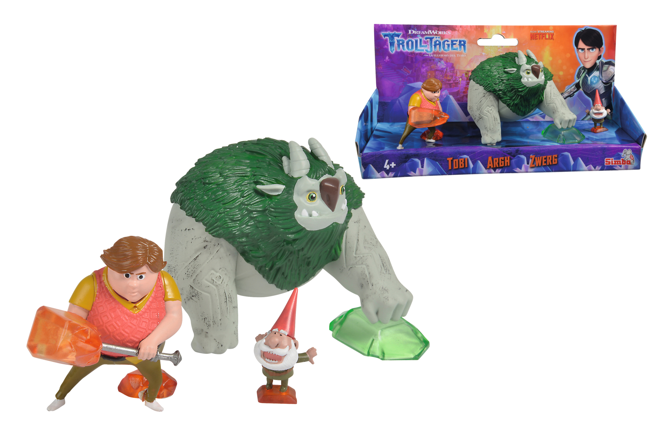 Trolljäger 3er Figurenset - Toby