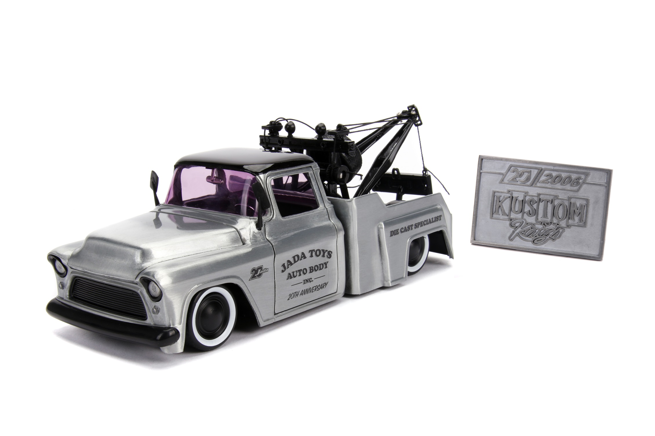 1955 Chevy Stepside Tow Truck - Wave 1