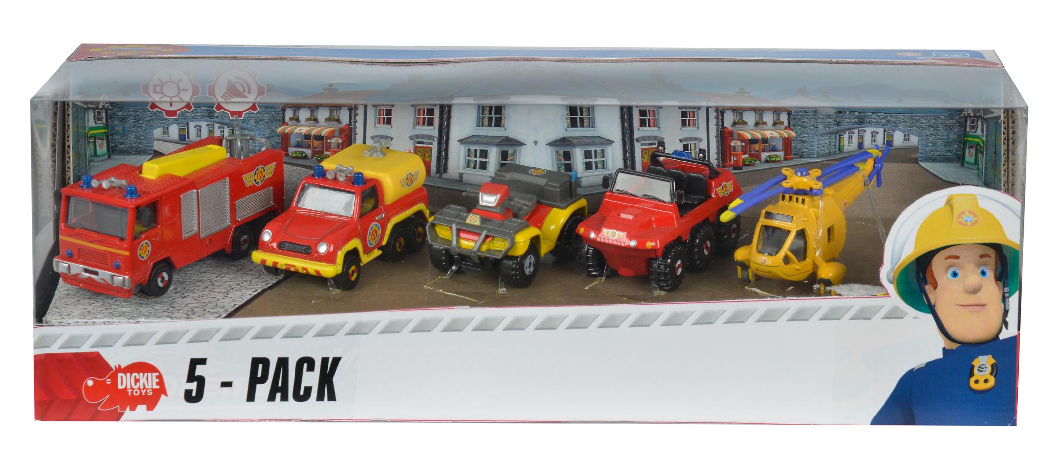 Fireman Sam 5er Pack