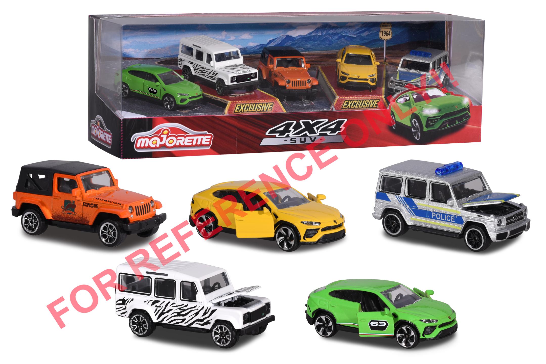 SUV 5 pcs Giftpack