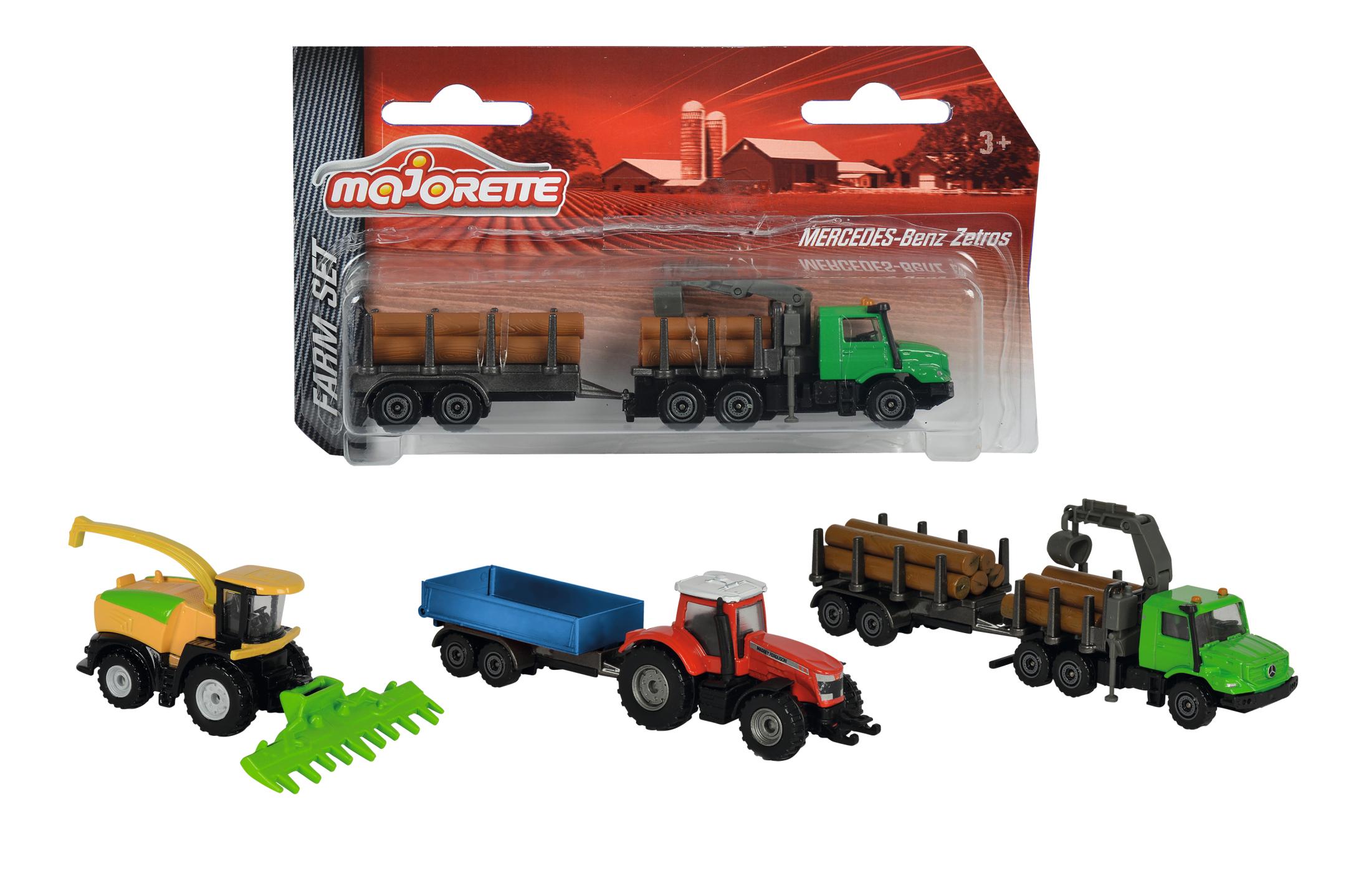 Majorette Kleines Farm Set 3fs