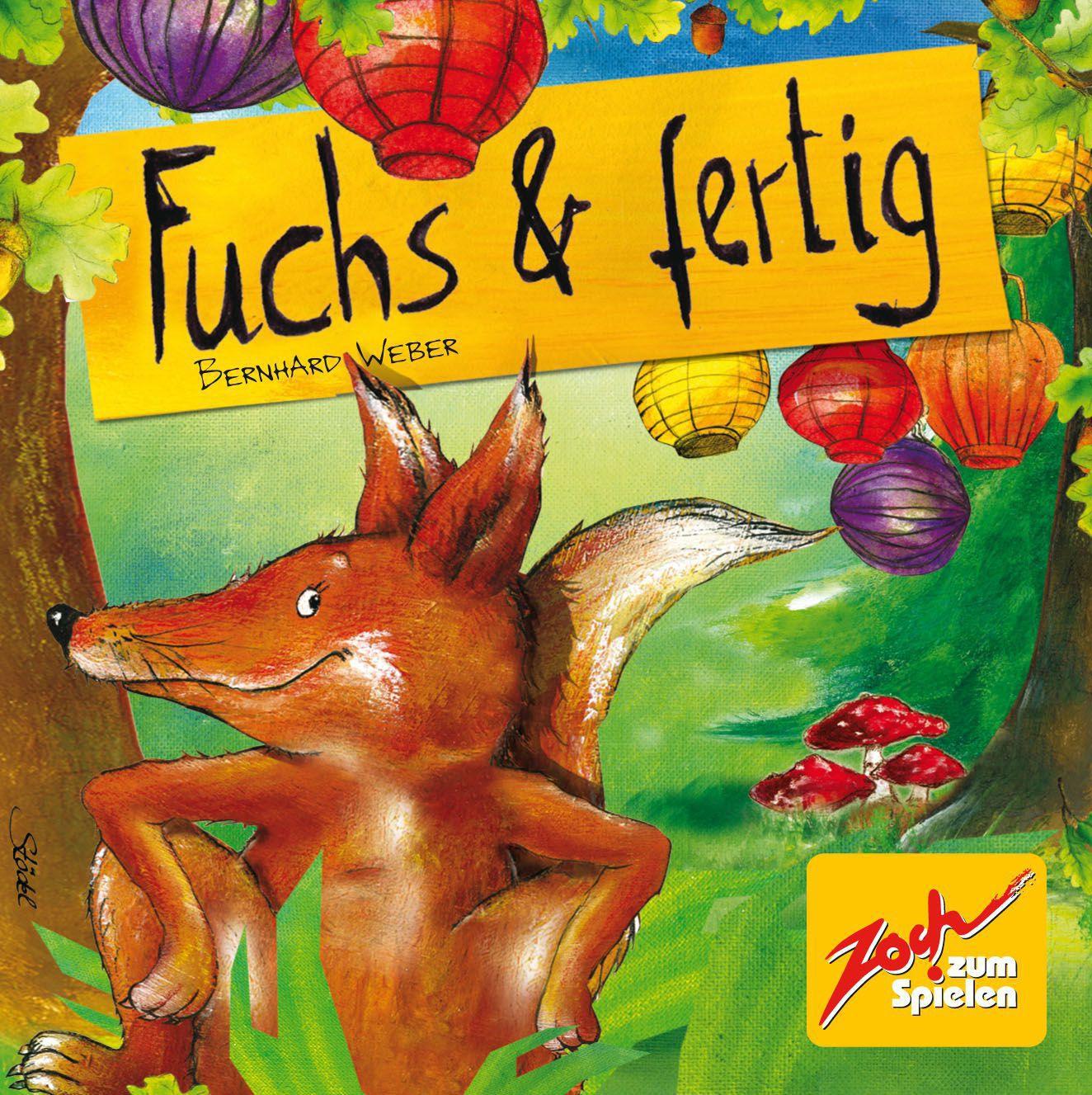 Kinderspiel Fuchs & Fertig