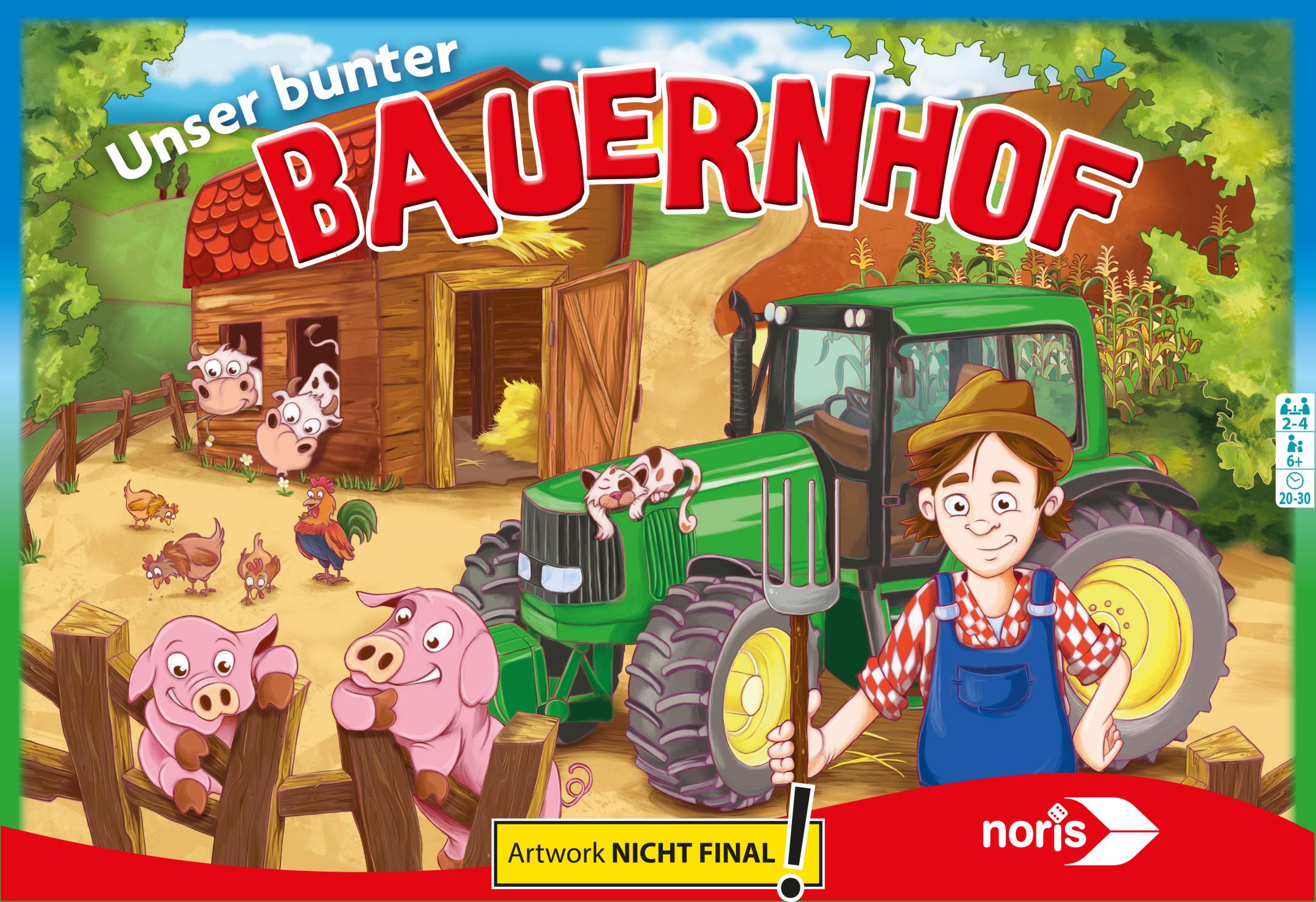Themenspiel - Unser bunter Bauernhof