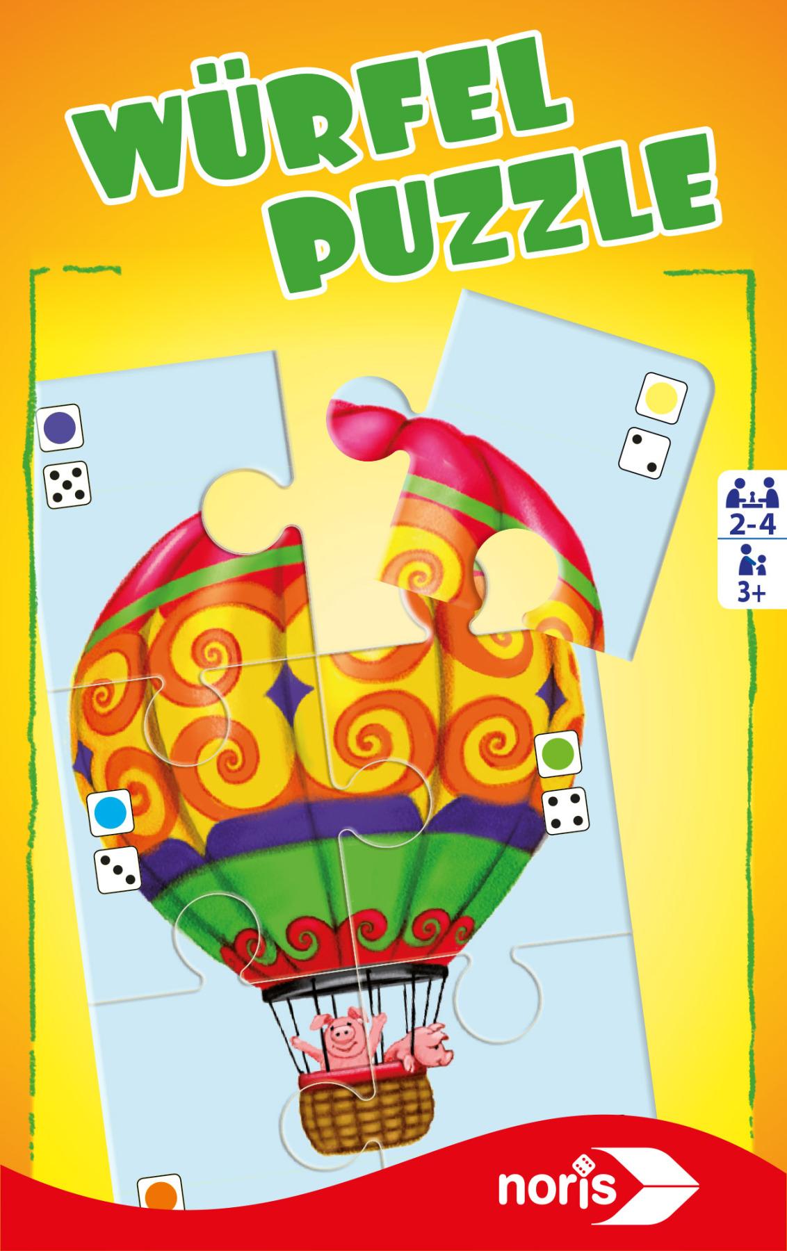 Mitbringspiel - Würfelpuzzle