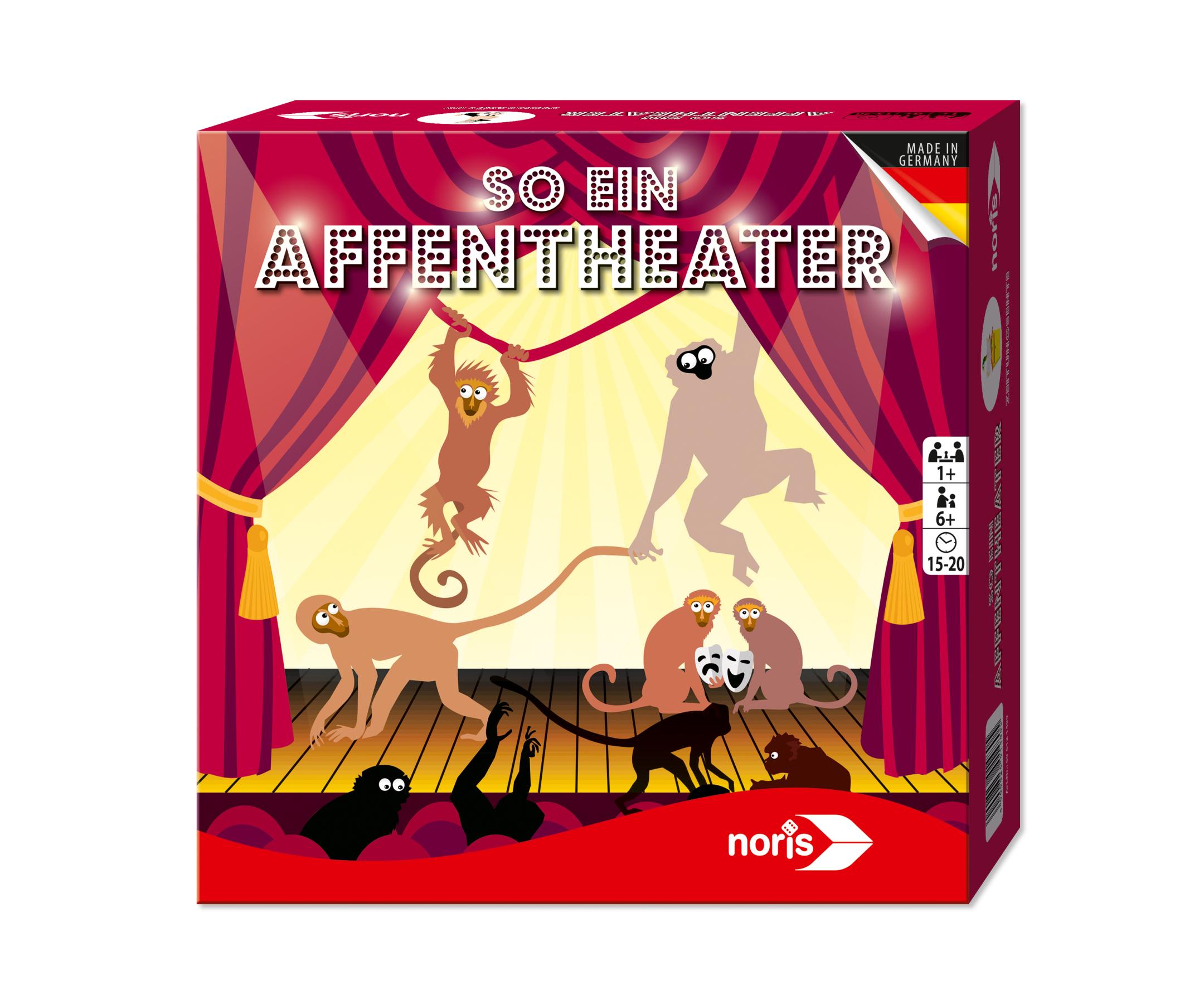 3er Memo - So ein Affentheater