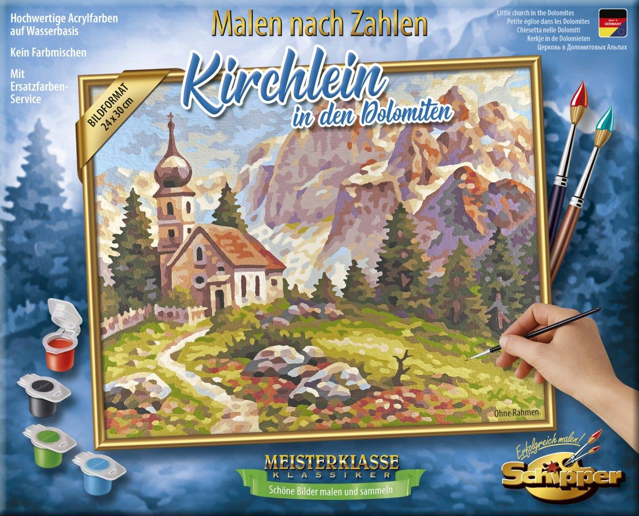 MNZ - Kirchlein in den Dolomiten