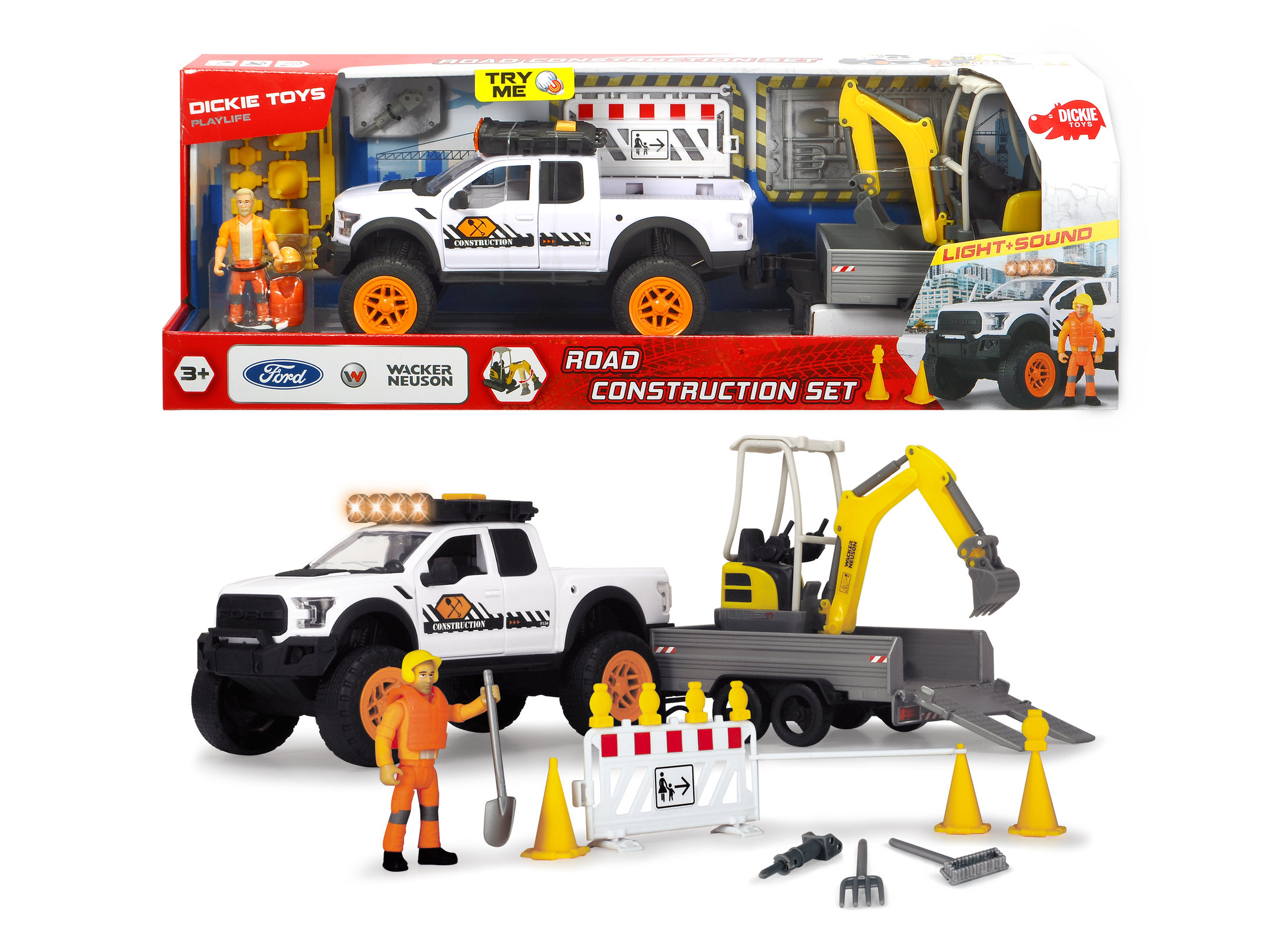 Playlife - Road Construction Set