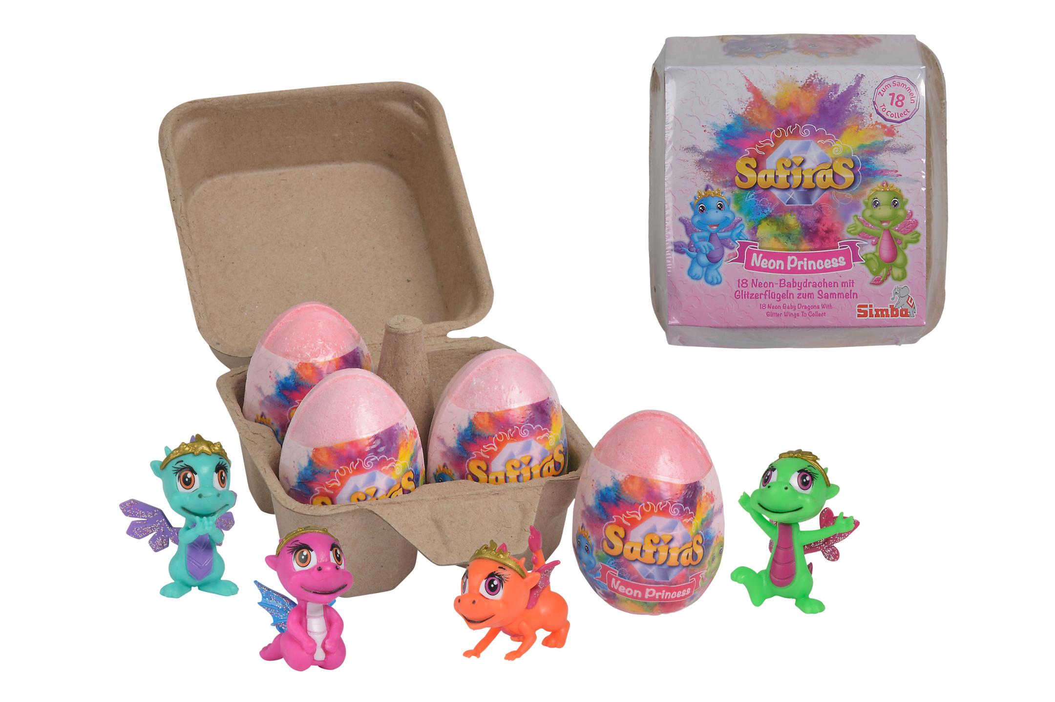Safiras V Neon Prinzess 4er Pack