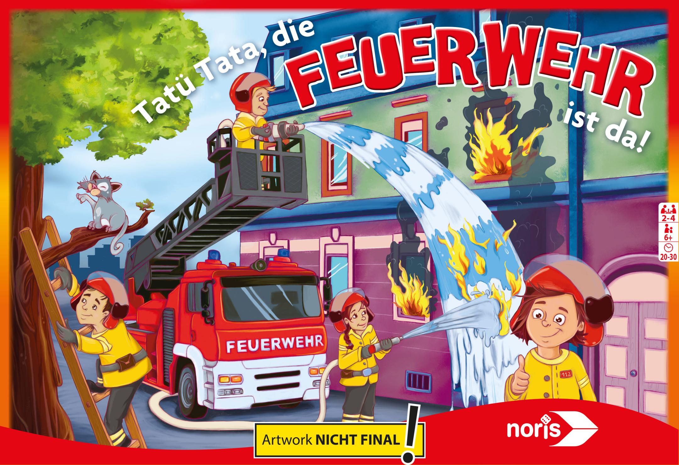 Themenspiel - Bei der Feuerwehr