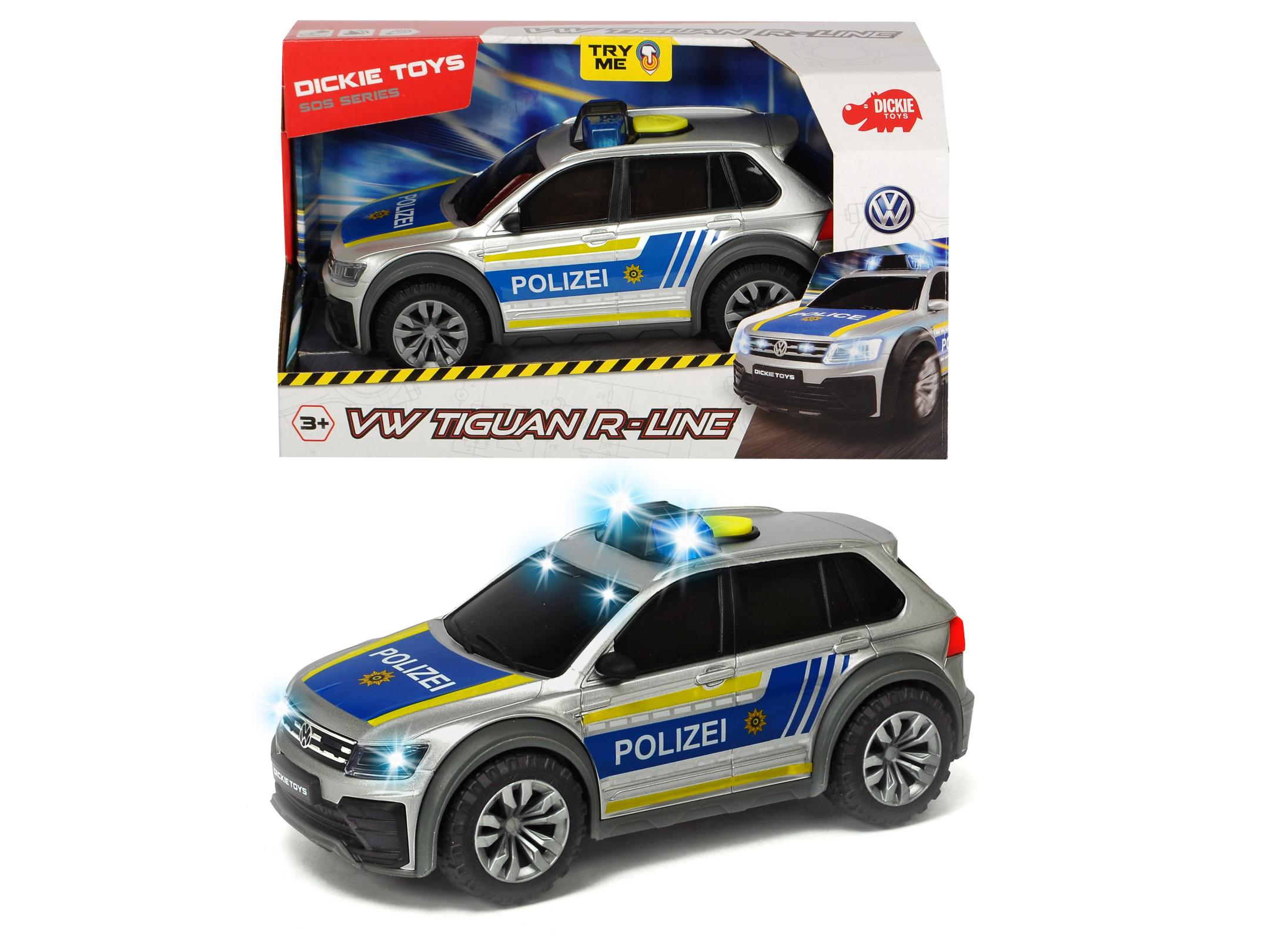 VW Tiguan R-Line Polizei