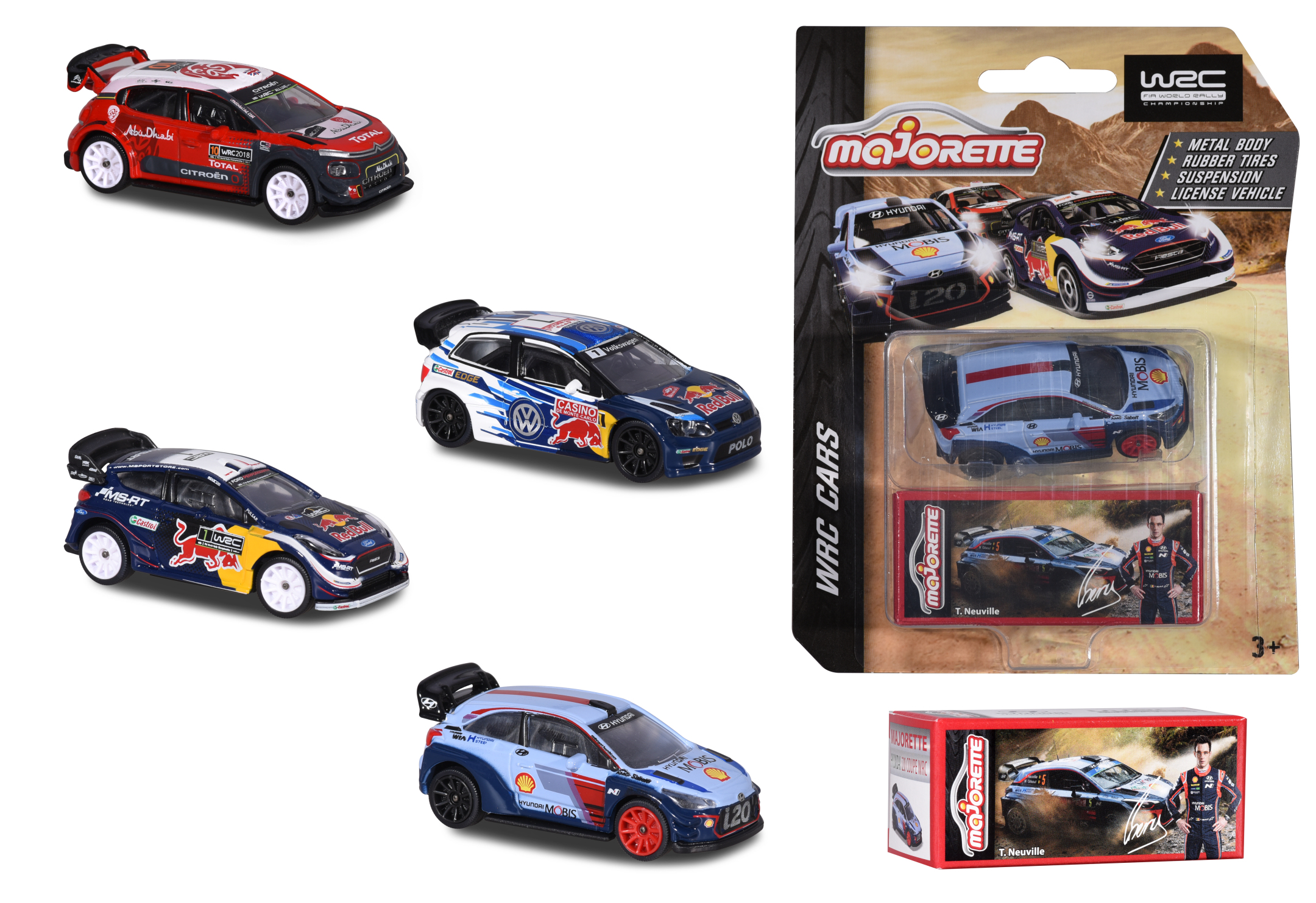 WRC Assortment Edition 4fs.