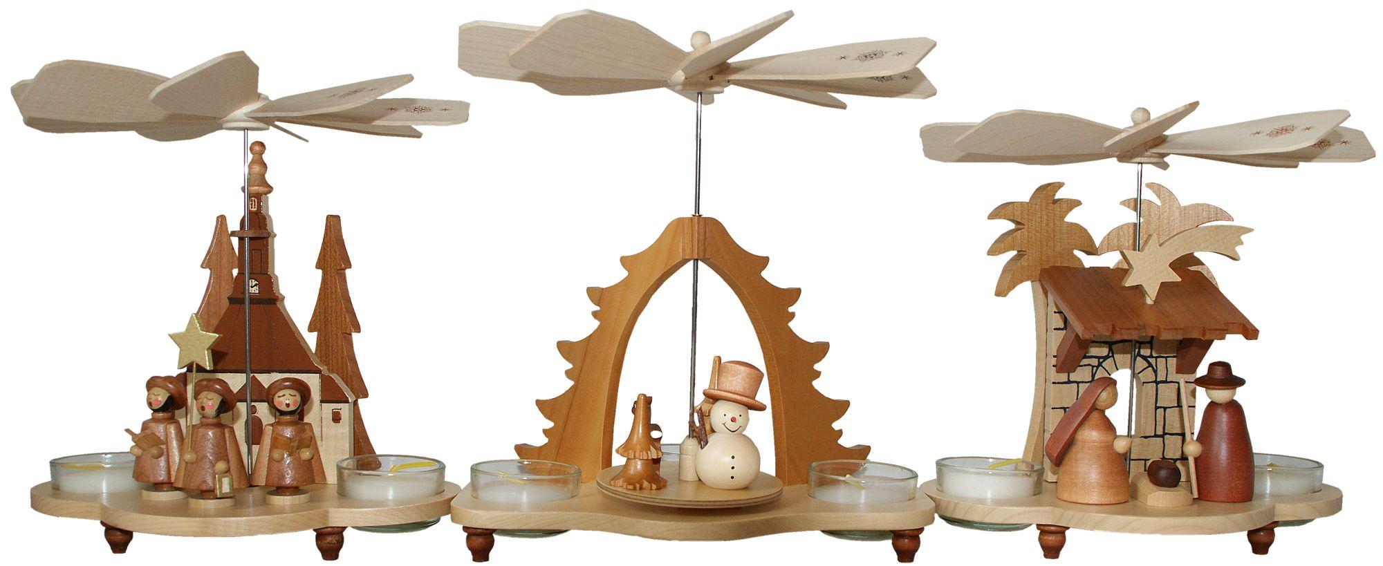 Teelichtpyramiden