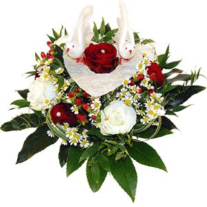 Blumenstrauss Goldene Hochzeit
