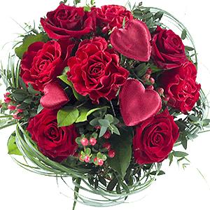 Blumenstrauss Valentinstag My Valentine