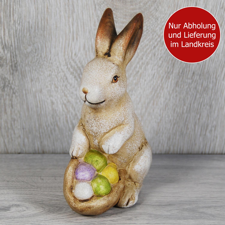 Blumenstrauss Hase mit Eierkorb