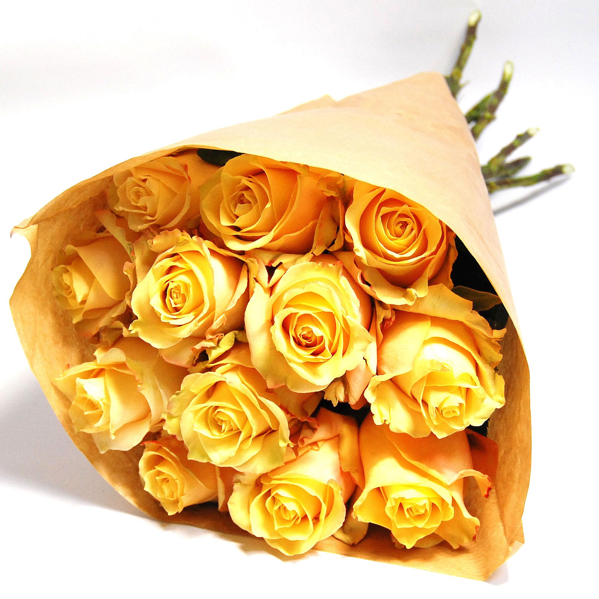 Blumenstrauss Rosenstrauß Amaretto