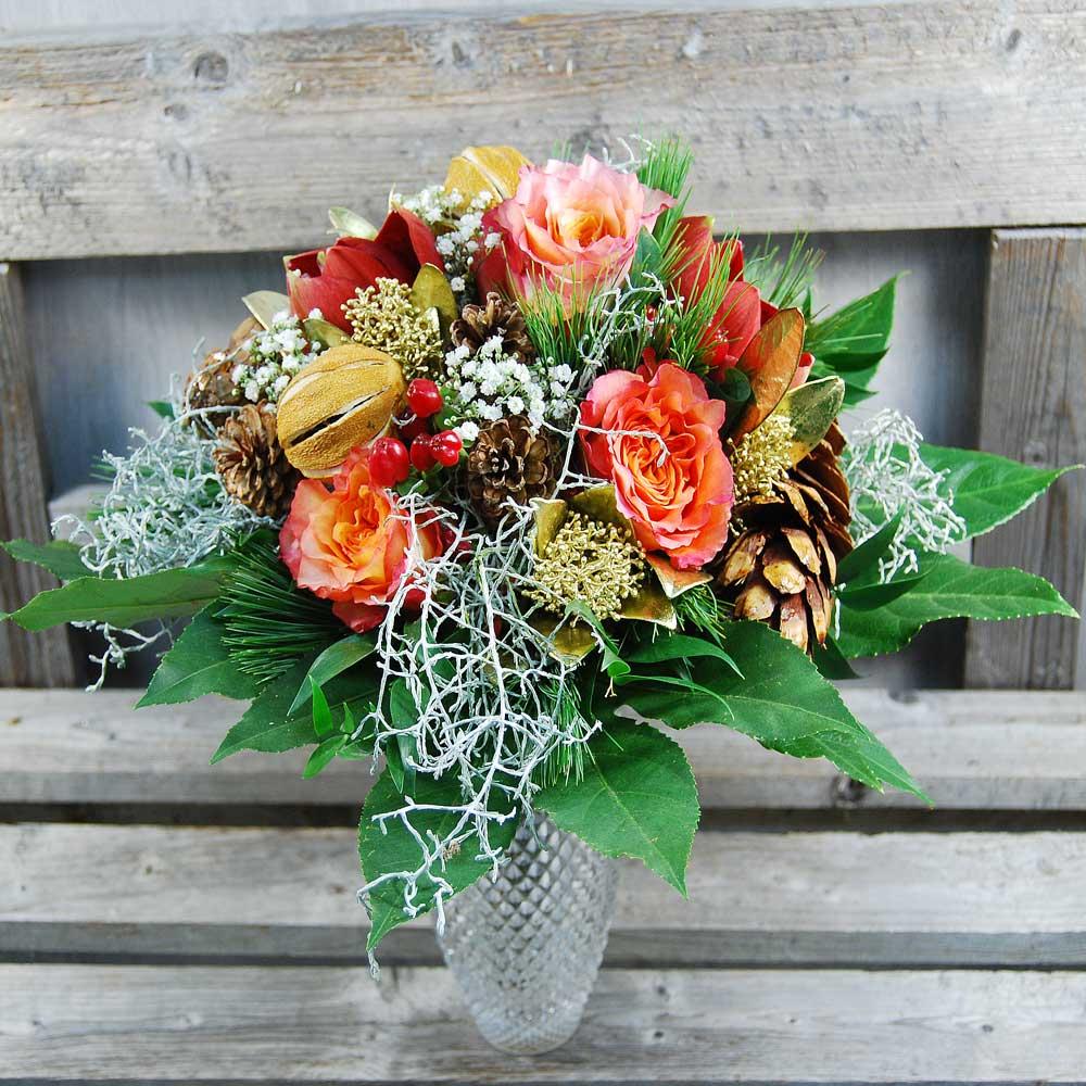 Blumenstrauss Adventszauber